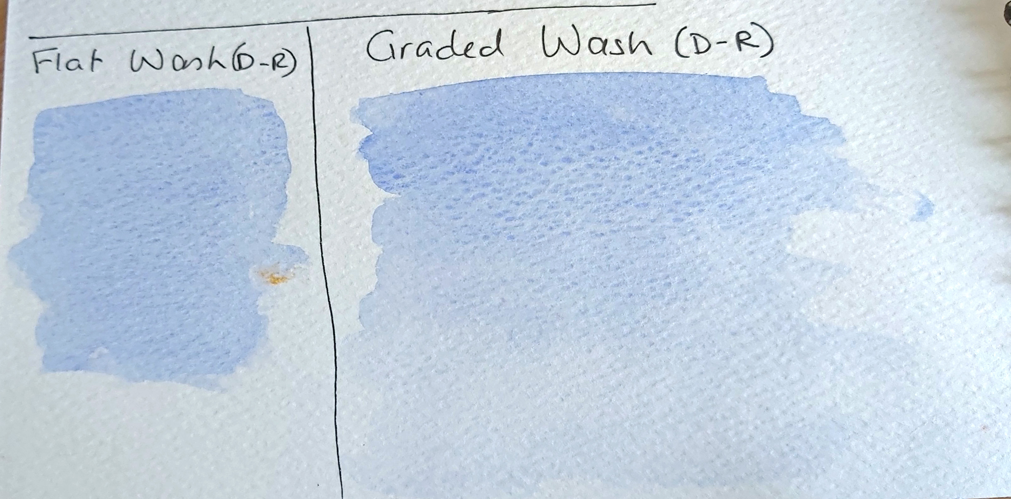 6 & 7 washes dry